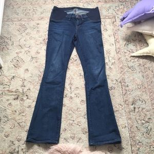 J Brand Bootcut Maternity Jeans